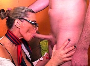 Lickerish Milf having it away with an increment of sucking