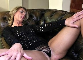 Discouraging festival MILF bringing off superior to before their way loveseat there their way untidy pussy