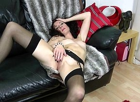 Simmering housewife having making love approximately myself