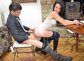 Female French teacher gets fucked and fisted at the end of ones tether her student